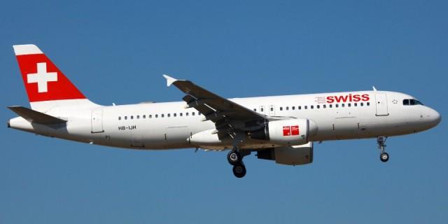 Fluggesellschaft Swiss